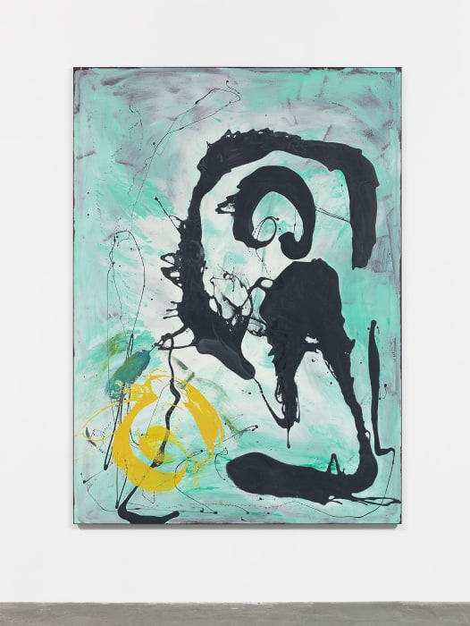Turquoise Painting by Ryan Sullivan