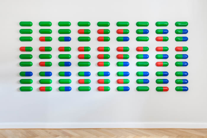 Green (Permanent) PLA©EBO by General Idea