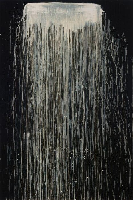 Something Waterfall by Pat Steir
