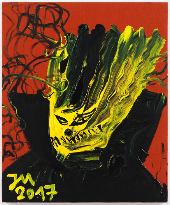 """DR. C.H.E.F. """"K.U.N.S.T."""" IM 1. BARBARELLA ERZLAND """"E.R.Z."""" by Jonathan Meese"""