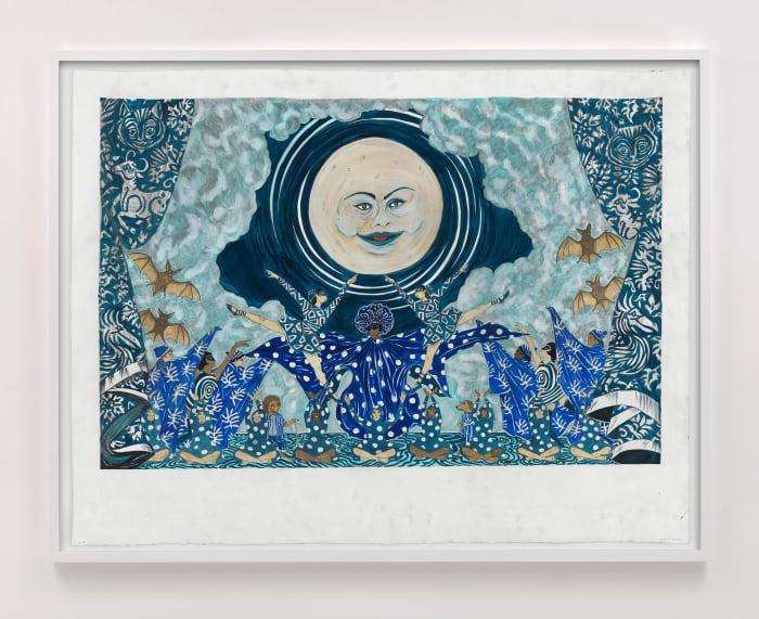 Blue Moon by Marcel Dzama