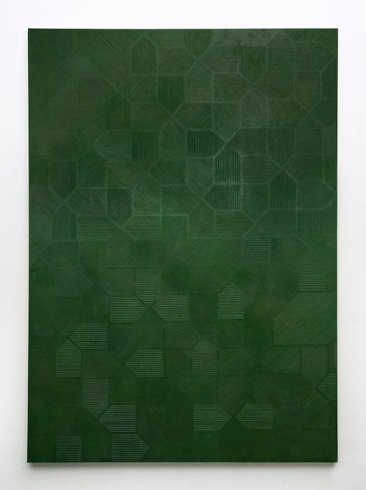 Scales, Varlation #4, Nefrite Jade by Naufus Ramirez Figueroa