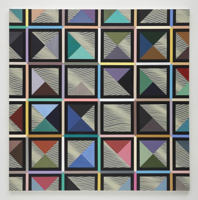 Carpas quadradas by Luiz Zerbini