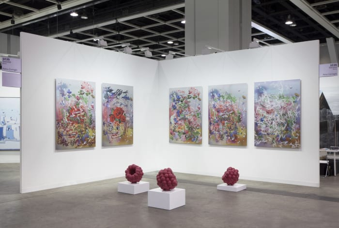 Installation view by Petra Cortright