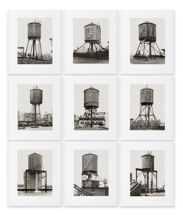 New York City Water Towers by Bernd & Hilla Becher