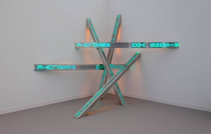 All Fall, Texts: Selections from Truisms (1977-79), Living (1980-82) and Survival (1983-85) by Jenny Holzer