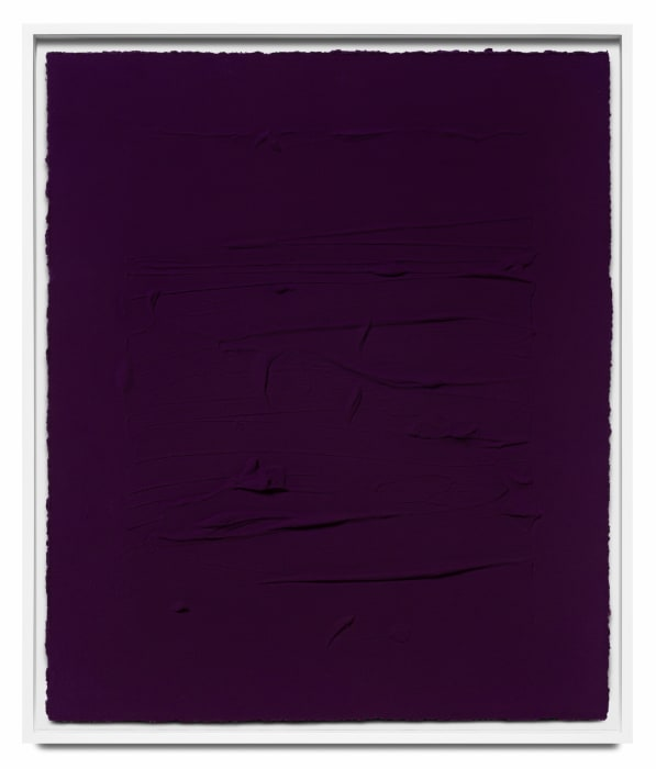 'Ultramarine blue/ Quinacridone magenta II by Jason Martin