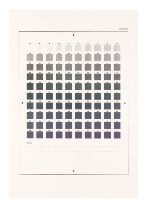 Crooked finance... Gradient economy... Every colour left… by Ryan Gander