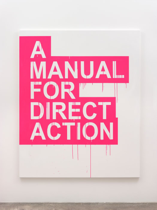 A Manual for Direct Action (pink) by Gardar Eide Einarsson