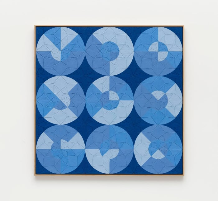 Possibilities of a Structure: Nine Circles: 1.2.44 by Eduardo Terrazas