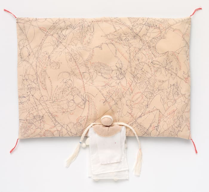 Pale-Colored Pillow by Ryoko Aoki