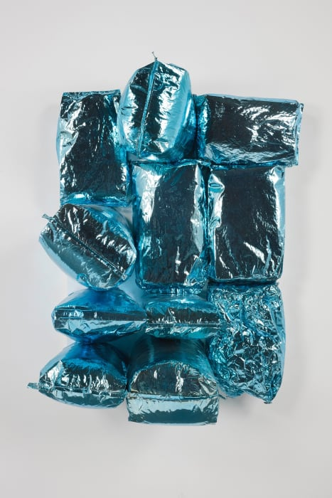Air (Blue Skies) by Jim Lambie