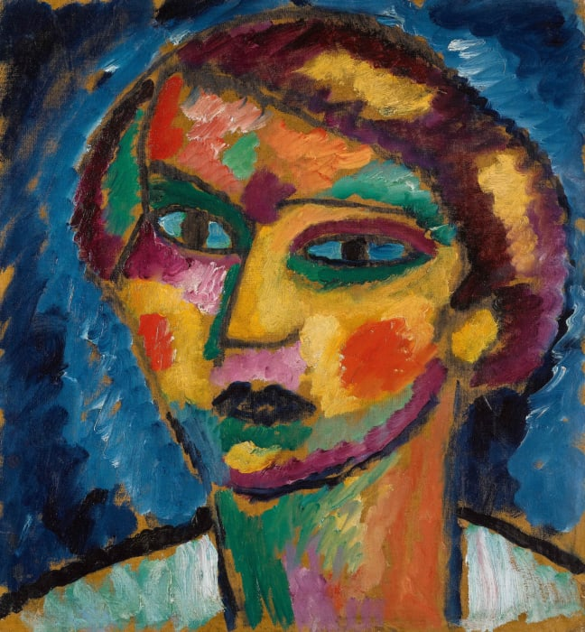 Head of a Woman by Alexej von Jawlensky