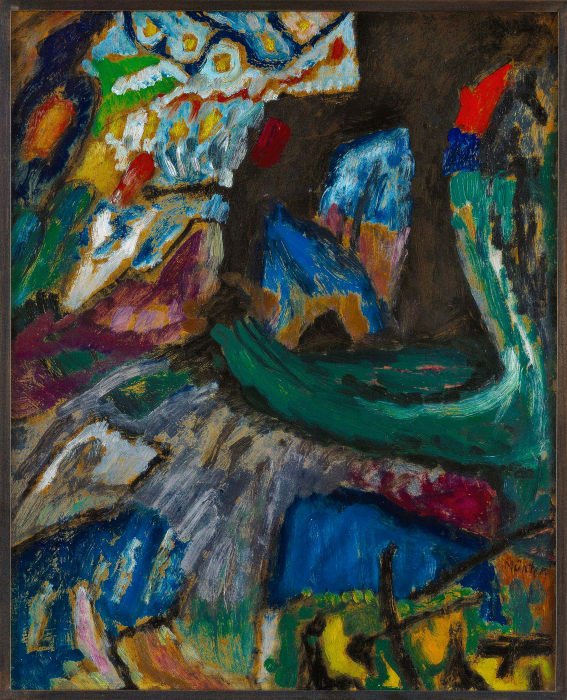 Abstract by Gabriele Münter