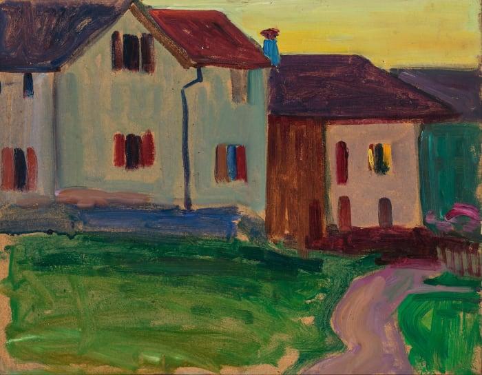 Houses in Murnau by Gabriele Münter