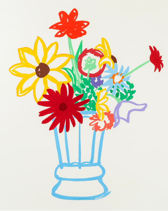 Study for Wildflower Bouquet by Tom Wesselmann