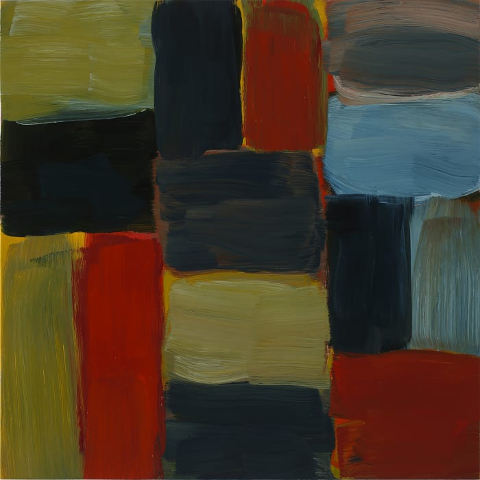Wall Pale Green by Sean Scully