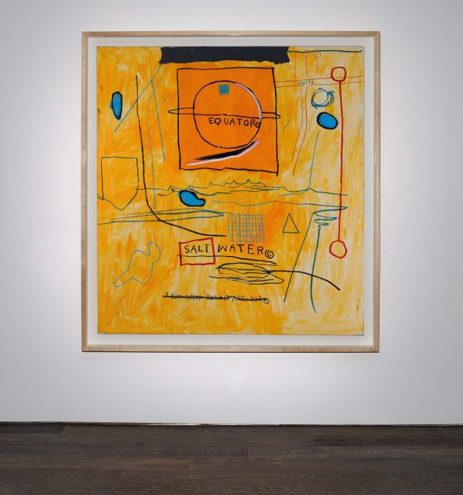 Big Sun by Jean-Michel Basquiat