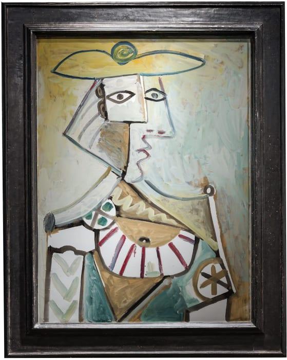 Buste au Chapeau by Pablo Picasso