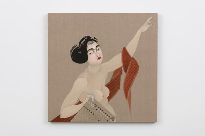 The Appeal 11 by Hayv Kahraman