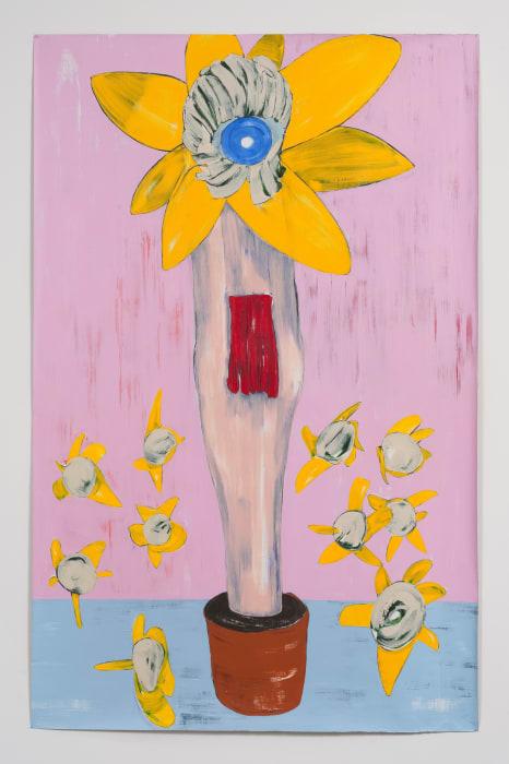 Flowerpot by Nicola Tyson