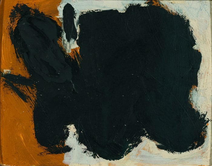 Two Figures No. 12 by Robert Motherwell