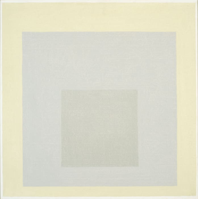 "Study for Homage to the Square: ""Restrained"" by Josef Albers"