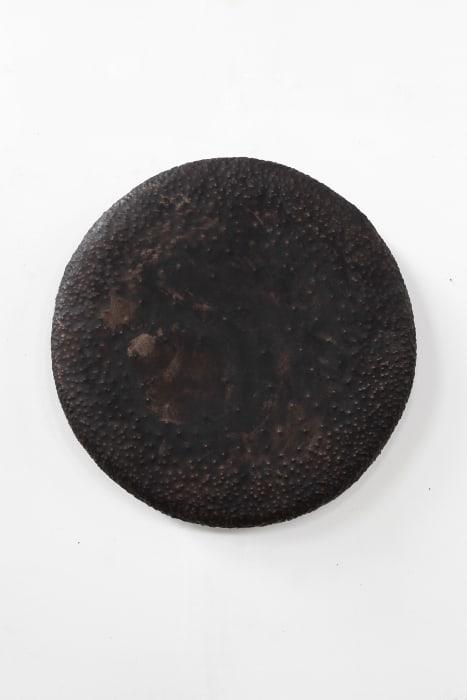 """""""Good Vibe Gong (black patina)"""" by David Renggli"""