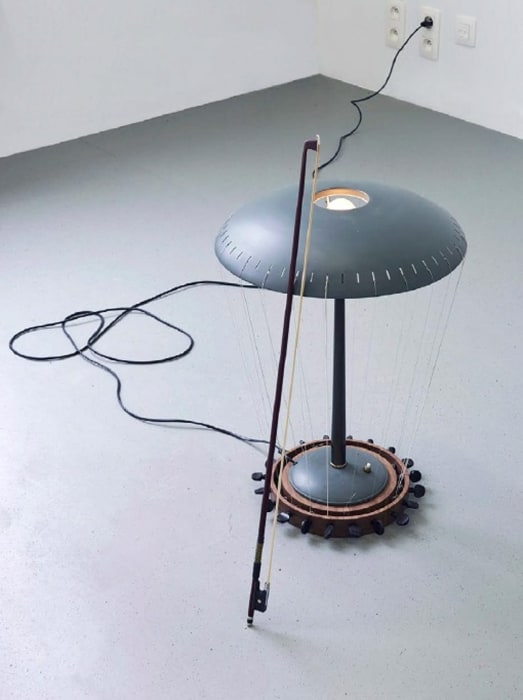 Table Lamp Violin (from the series Music Room, Brussels) by Nevin Aladag