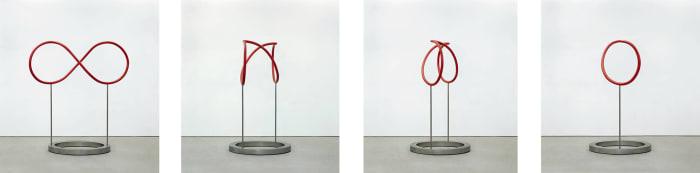 Von null bis unendlich (from zero to infinity) by Timm Ulrichs