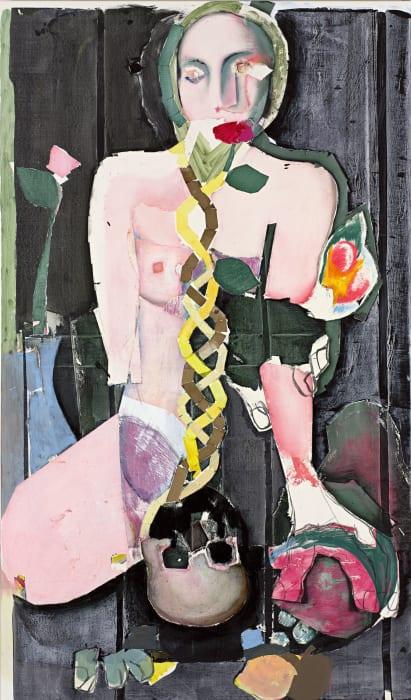 Untitled (25) by Magnus Plessen