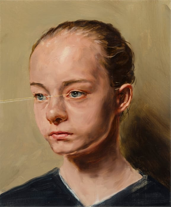 X by Michaël Borremans