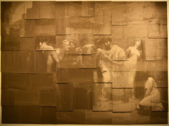 Untitled (After Hidalgo, Las Jovenes Christians Expuestas al Populacho) by Jill Paz