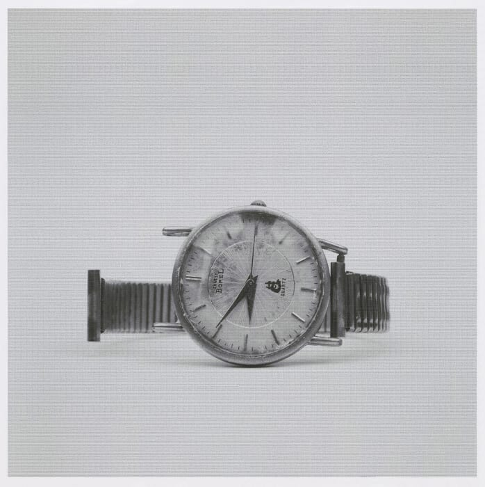 """Father 1927.12.03 - 2010.08.27"""", at eight o'clock fifty-one minutes and fifteen seconds by Lang Li"""