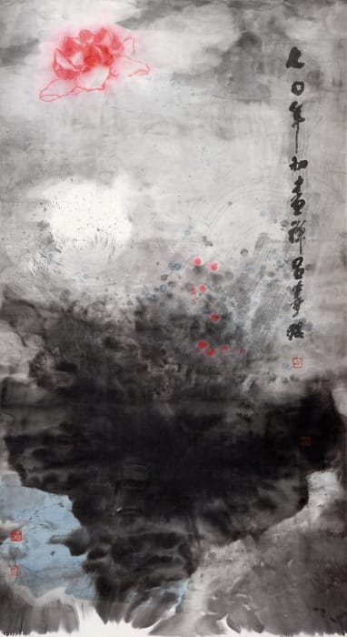 Zen Painting A70-11 by Shou-kwan Lui
