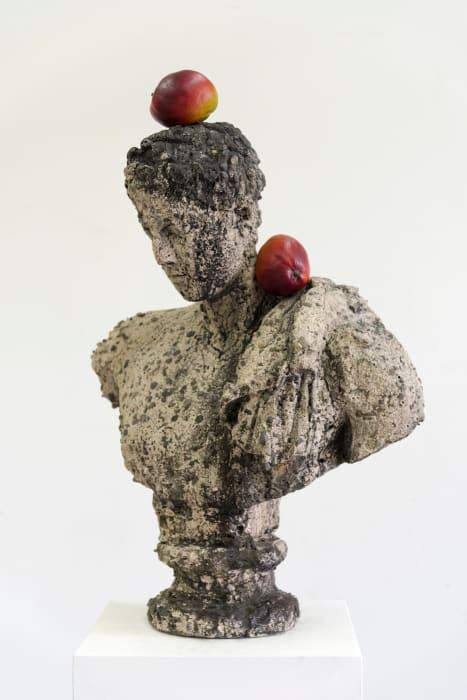 Bust by Tony Matelli