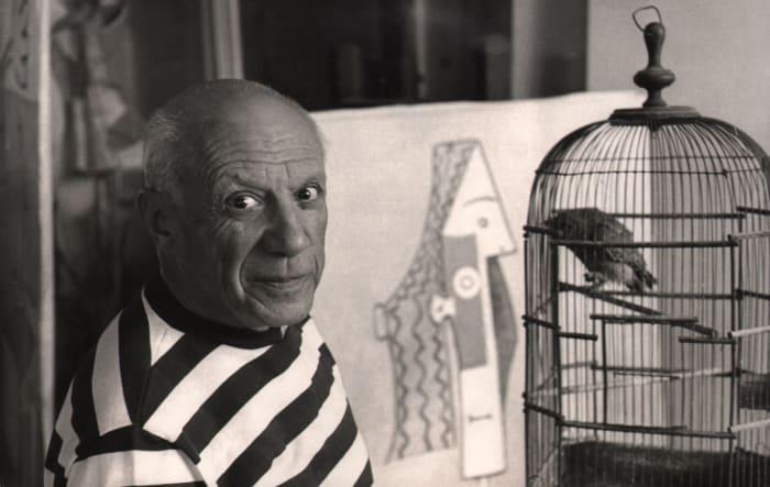 Pablo Picasso, Villa California by Rene Burri