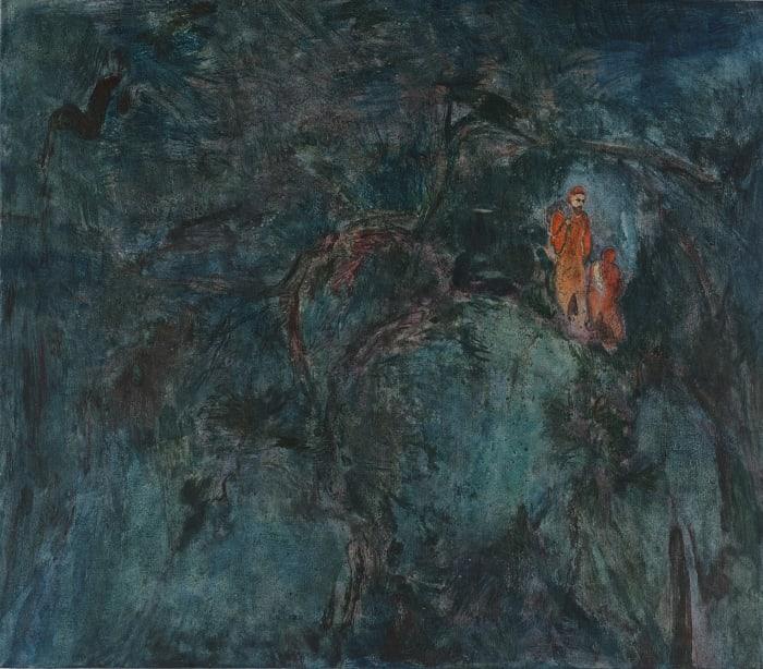 松夜猎寻Searching in the Dark by Yabin Wang