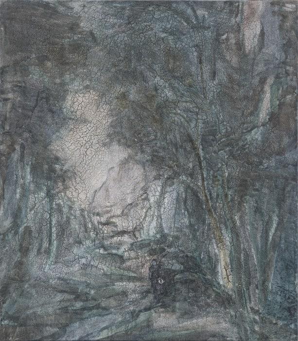Culvert in Late Autumn by Yabin Wang