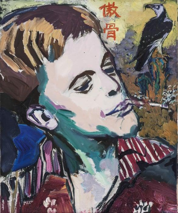 Klaus Kinski in His Youth I by Sheng Tianhong