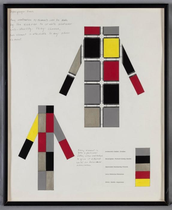 Doppelgänger Dress by Stephen Willats