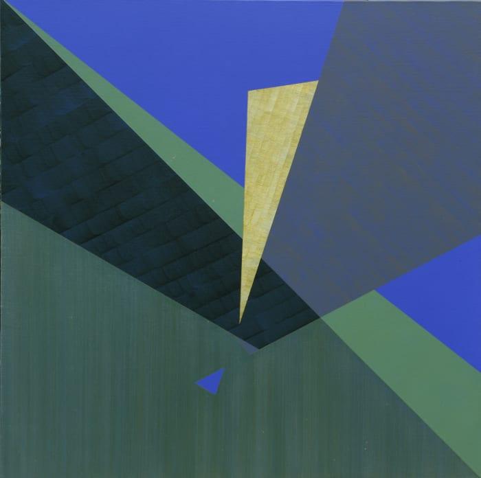 Triangle by three Blue by Yu Xiao