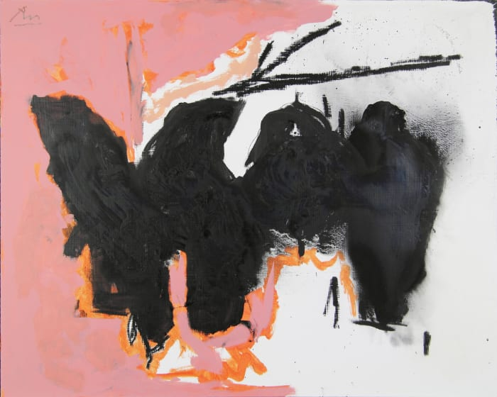 Elegy to the Spanish Republic No. 163 by Robert Motherwell