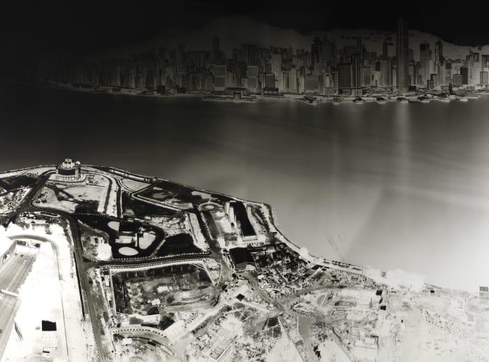 To see Hong Kong Island from Kowloon 19-20 July 2016 by Shi Guorui