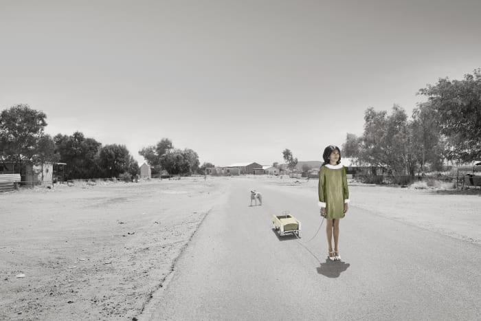 Mother (Pedal-Car) by Michael Cook