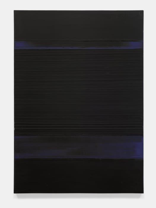 Peinture 130 x 92 cm, 8 avril 1989 by Pierre Soulages