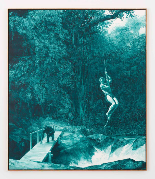 Nature's Ape by Mark Tansey