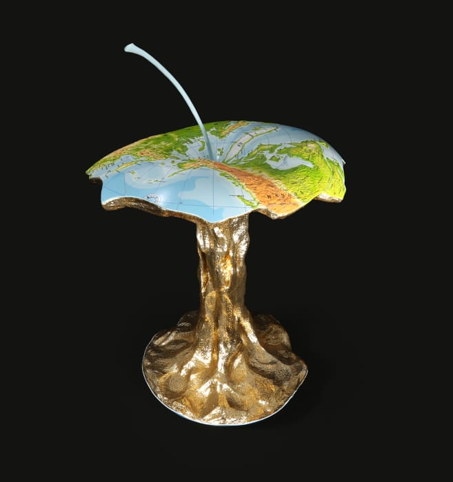 Dunia dan Bumi (World and Earth) by Rudi Mantofani