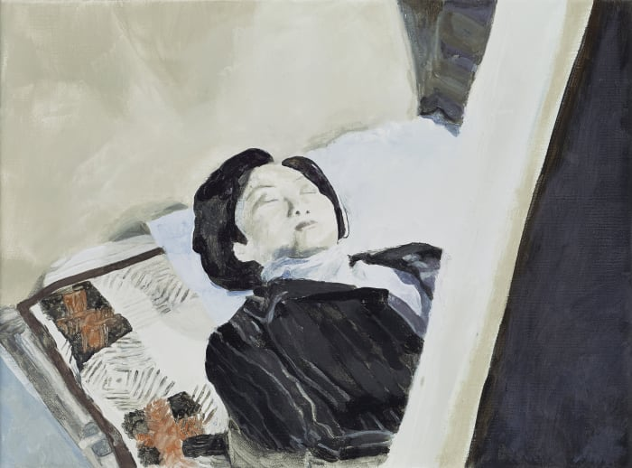 Woman in the Coffin by Halley Cheng