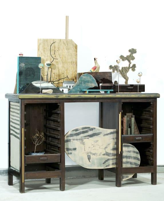 The Writing Desk by Lam Tung Pang